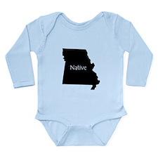 Missouri Native Long Sleeve Infant Bodysuit
