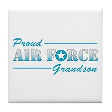 Proud Grandson Tile Coaster