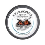 Social Workers - A Passion fo Wall Clock