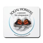 Social Workers - A Passion fo Mousepad