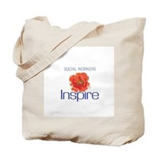 Social Workers Inspire Tote Bag