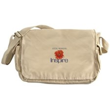 Social Workers Inspire Messenger Bag