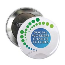 """Social Workers Change Futures 2.25"""" Button (10 pac"""