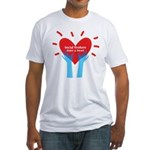 Social Workers Have A Heart Fitted T-Shirt