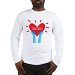 Social Workers Have A Heart Long Sleeve T-Shirt