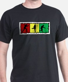 rasta disc golf T-Shirt