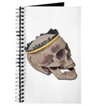 Skull Wearing Skyline Crown Journal