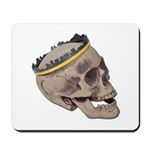 Skull Wearing Skyline Crown Mousepad