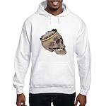 Skull Wearing Skyline Crown Hooded Sweatshirt