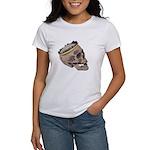 Skull Wearing Skyline Crown Women's T-Shirt