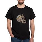 Skull Wearing Skyline Crown Dark T-Shirt