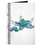 Starfish Glass Sand Dollars Journal