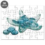 Starfish Glass Sand Dollars Puzzle