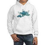 Starfish Glass Sand Dollars Hooded Sweatshirt