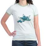 Starfish Glass Sand Dollars Jr. Ringer T-Shirt