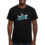 Starfish Glass Sand Dollars Men's Fitted T-Shirt (