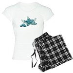 Starfish Glass Sand Dollars Women's Light Pajamas