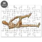 Stretching Knee and Shoulders Puzzle