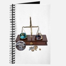Weighing Gems on Scale Journal