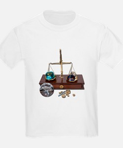 Weighing Gems on Scale T-Shirt