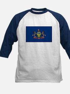Pennsylvania Flag Kids' Baseball Jersey