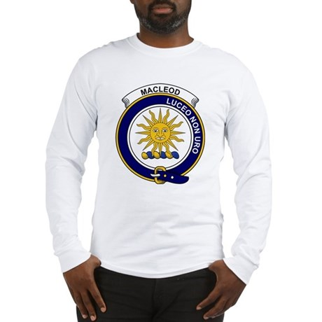 MacLeod (of Lewis) Clan Badge Long Sleeve T-Shirt