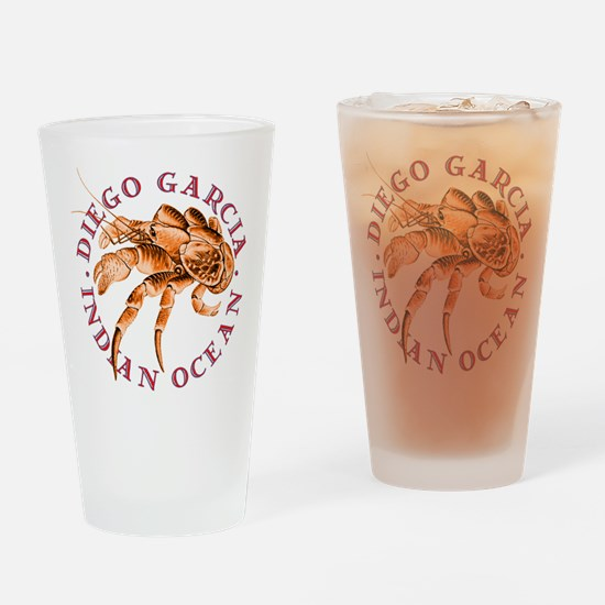 Red Coconut Crab Drinking Glass