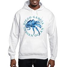 Blue Coconut Crab Hoodie