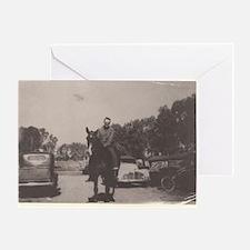 Vintage Cowboy #03 Greeting Card