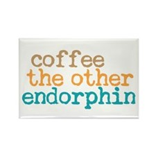 Coffee Endorphin Rectangle Magnet