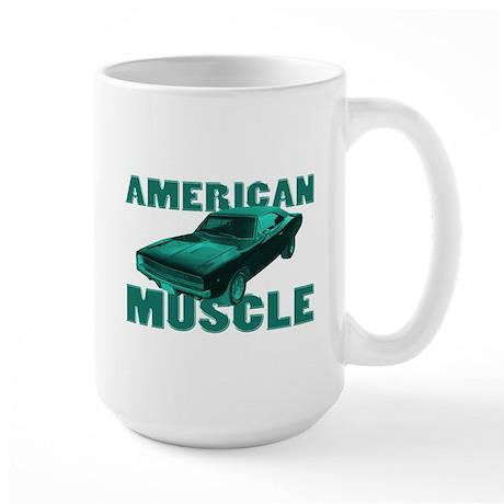 1968 Dodge Charger Mopar Large Mug