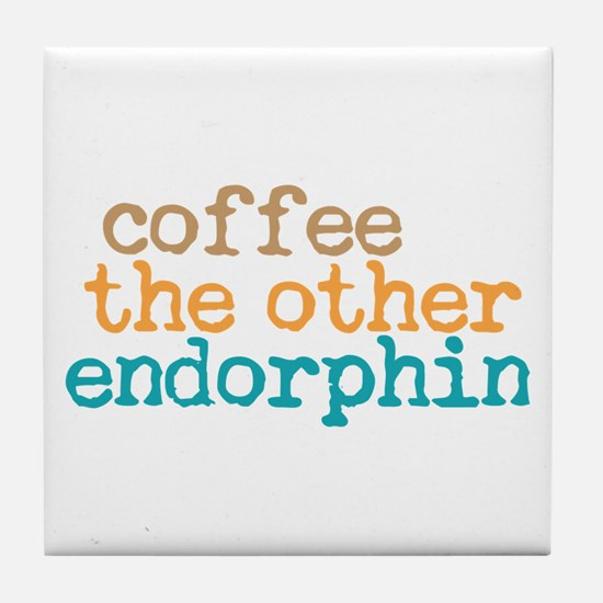 Coffee Endorphin Tile Coaster