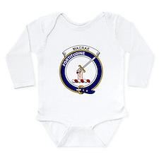Cute Clan macrae Long Sleeve Infant Bodysuit