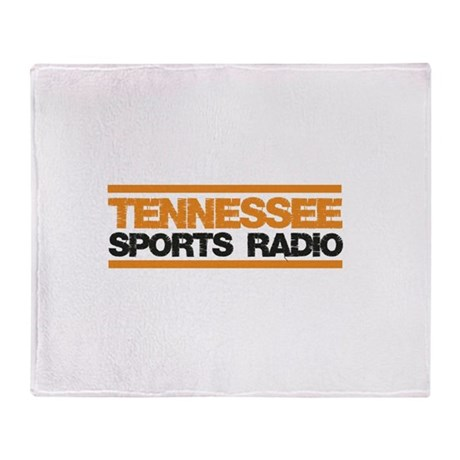 Tennessee Sports Radio Throw Blanket