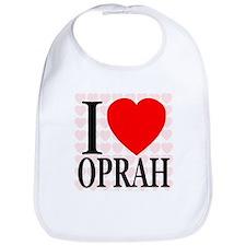 I Love Oprah Bib