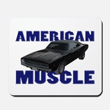 1968 Dodge Charger Blue Mousepad