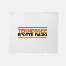Tennessee Sports Radio Throw Blanket