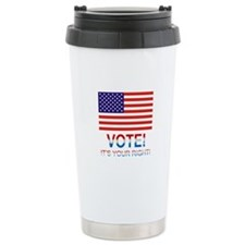 Vote Travel Coffee Mug