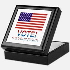 Vote Keepsake Box