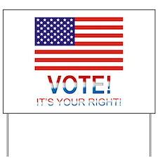 Vote Yard Sign