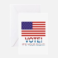 Vote Greeting Card