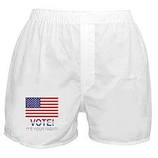 Vote Boxer Shorts