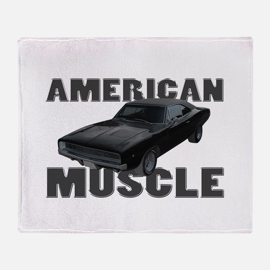 1968 Dodge Charger Throw Blanket