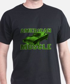 1968 Dodge Charger Lime T-Shirt