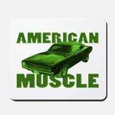 1968 Dodge Charger Lime Mousepad