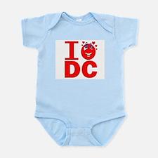 I Love DC Infant Creeper