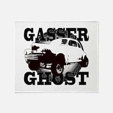 1948 Ford Gasser Straight Axe Throw Blanket