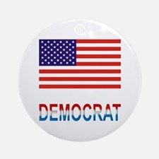 Democrat Ornament (Round)