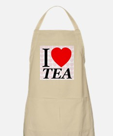 I Love Tea First Edition BBQ Apron