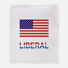 Liberal Throw Blanket